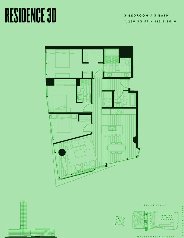 Aeʻo Residence 3D