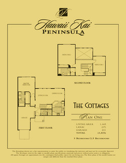The Cottages - plan 1