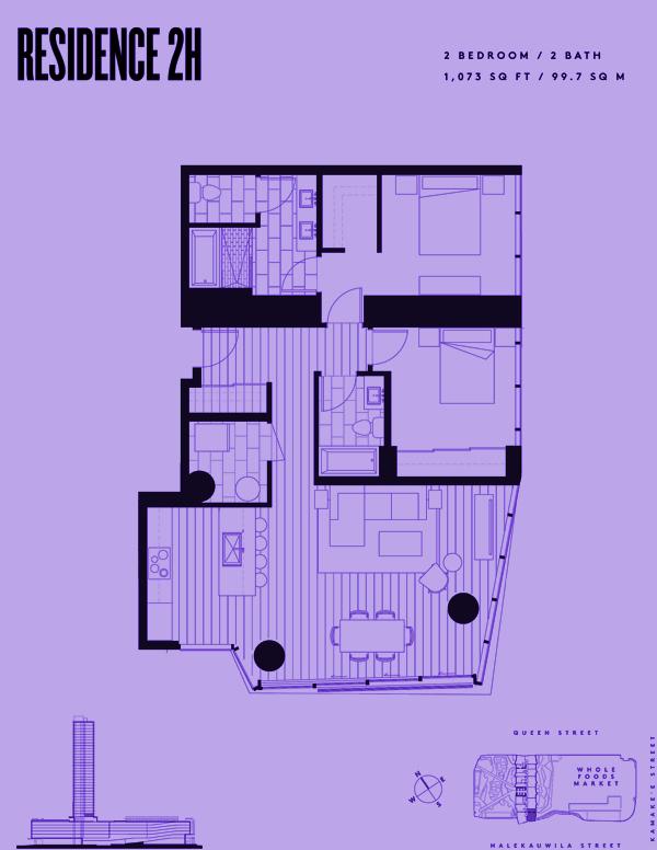 Aeʻo Residence 2H