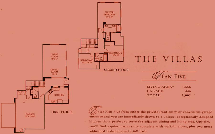 The Villas - plan 5