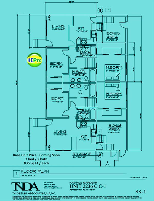 Kauhale-Gardens - units 2236C-C1