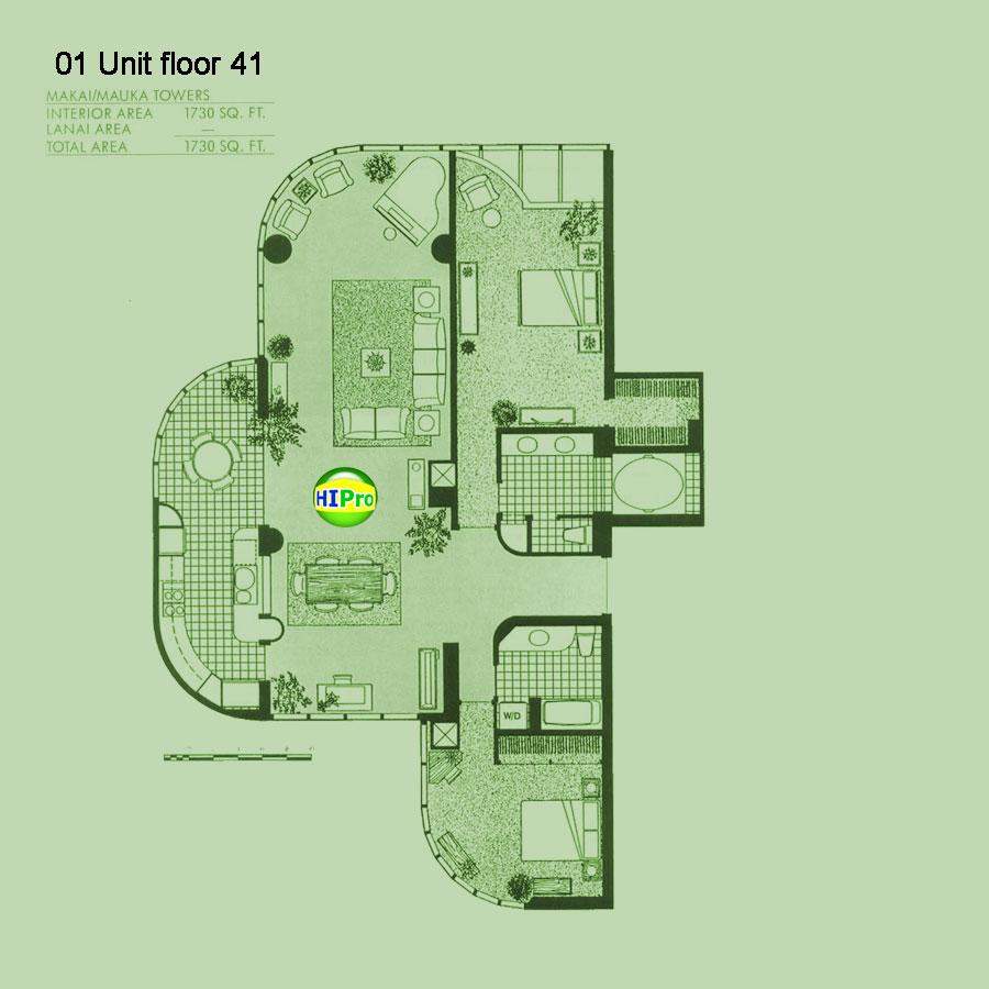 Penthouses Floors 37 - 42