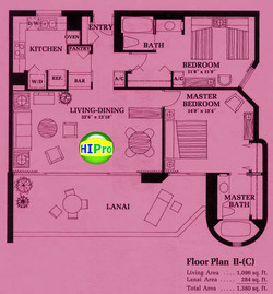 Canterbury Place Floor Plan II (C)