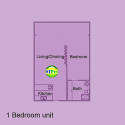 Colony Surf 1 Bedroom unit