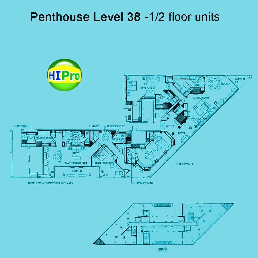 Waikiki-Landmark - Penthouses