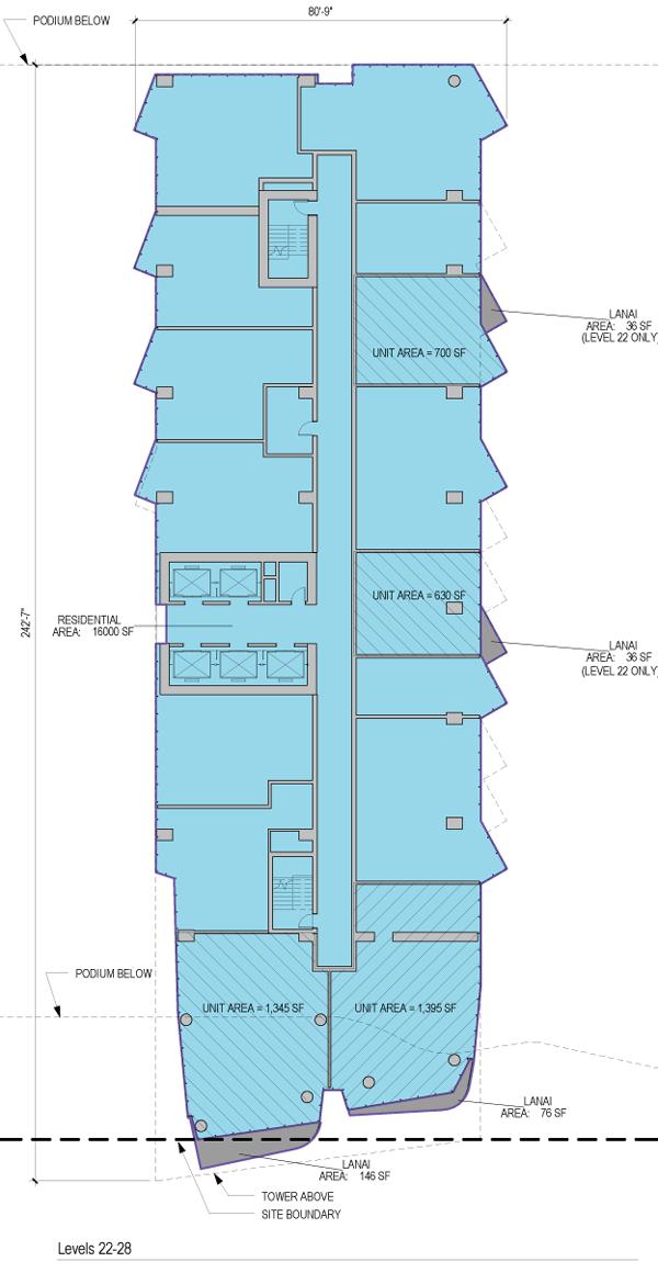 Ae'o Floorplate 22-28