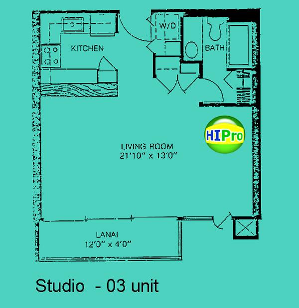 Four Paddle studio unit