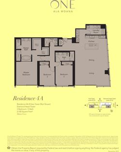ONE Ala Moana Blvd. Penthouse 4A
