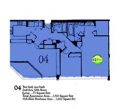 Punahou Cliffs floor plan 04
