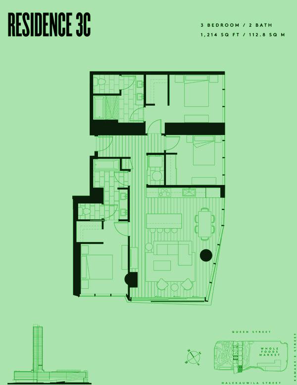 Aeʻo Residence 3C