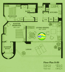 Canterbury Place Floor Plan II (B)