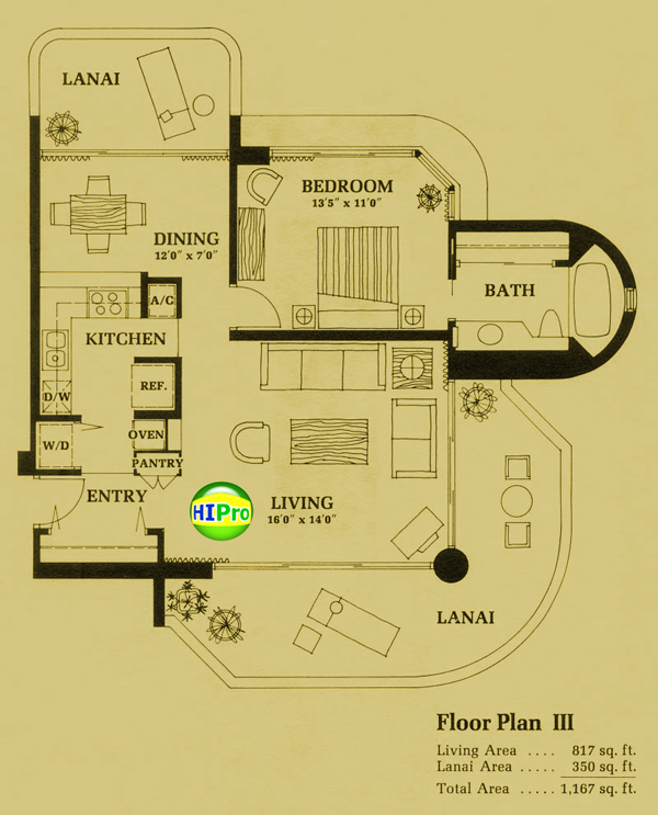 Canterbury Place Floor Plan III
