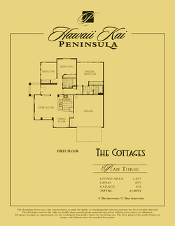 The Cottages - plan 3