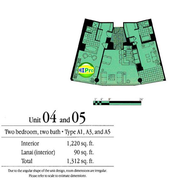Nauru Tower units 4 & 5