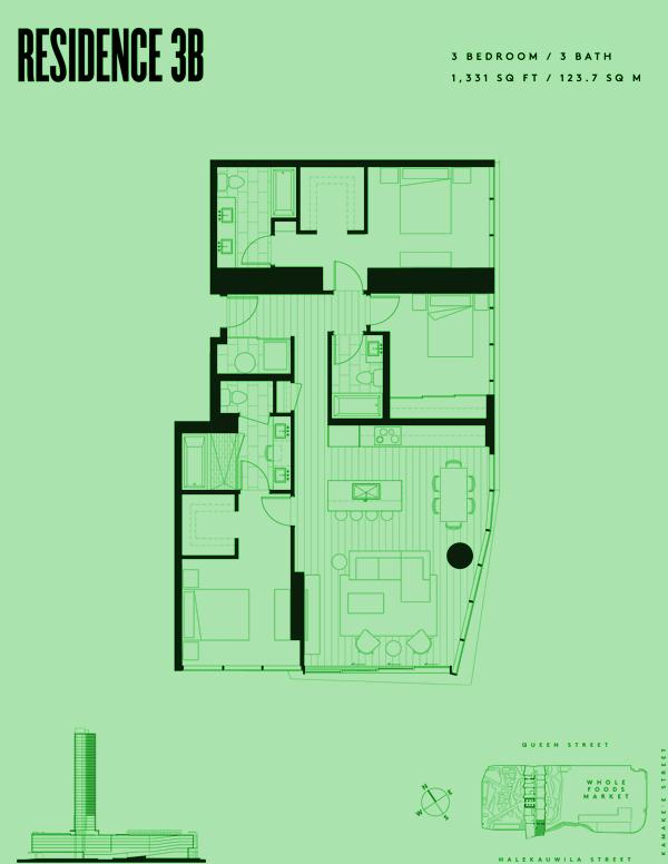 Aeʻo Residence 3B