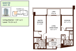 Watermark floor plan C2