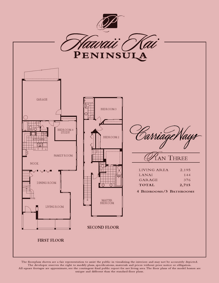 Carriage Ways - plan 3