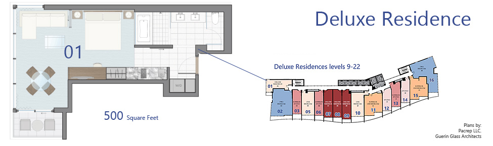Deluxe Residences Levels 9-22