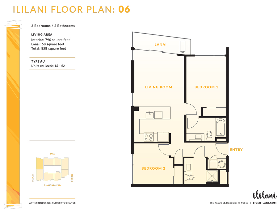 Ililani Floor Plan 06
