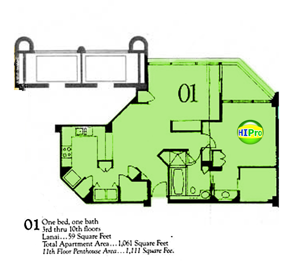 Punahou Cliffs floor plan 01