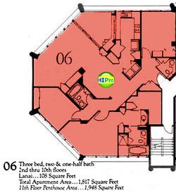 Punahou Cliffs floor plan 06