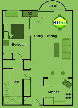 Ilikai Marina 1 Bedroom
