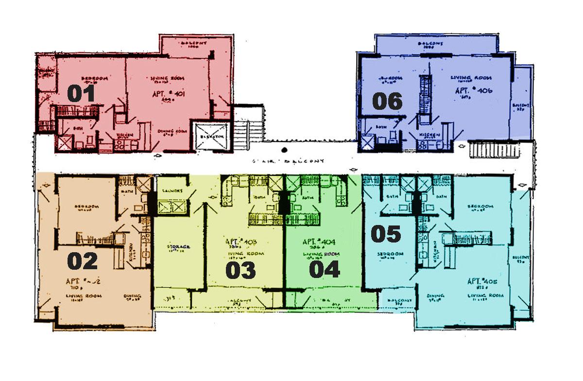 2987 Kalakaua floors 2-7
