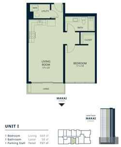 Kapiolani Residence unit I