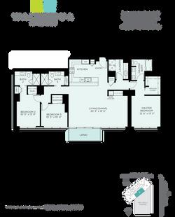 Waihonua Floor Plan - P