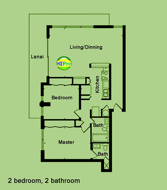 Ala Wai Mansion Floor Plan
