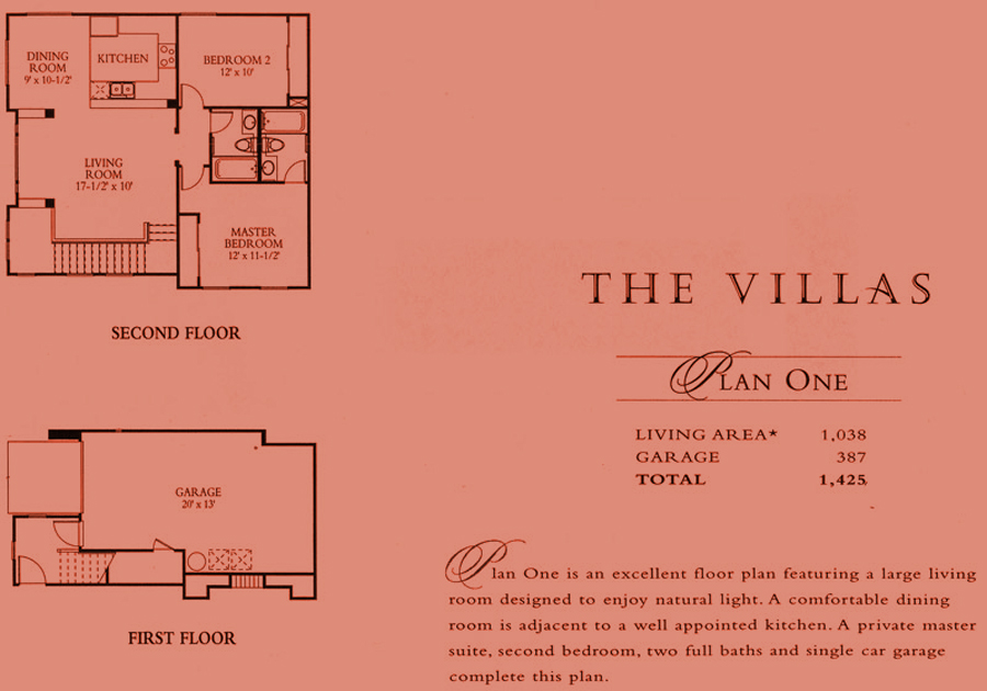 The Villas - plan 1