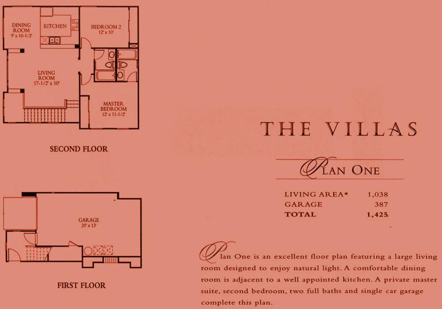 The Villas - plan 1