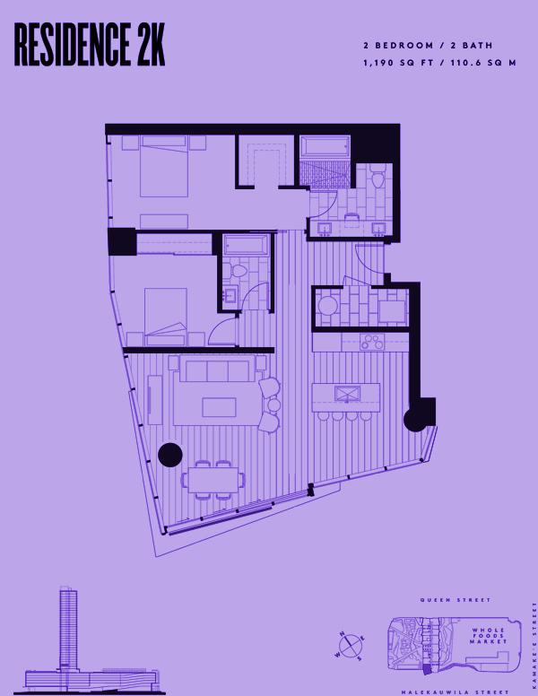 Aeʻo Residence 2K