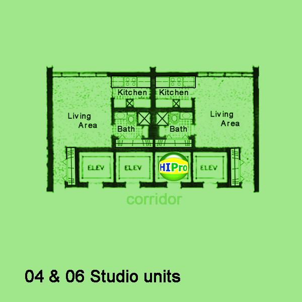 Villa on Eaton Square studio