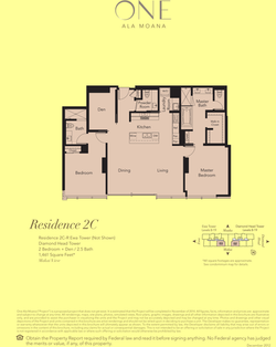 ONE Ala Moana Blvd. Residence 2C