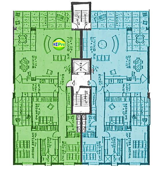 3003 Kalakaua Floor Plan