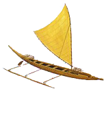 Outrigger Canoe - Wa'a graphic Image