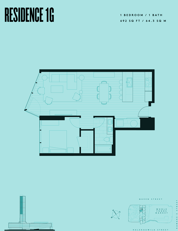 Aeʻo Residence 1G