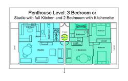 Pacific Monarch Penthouse Units