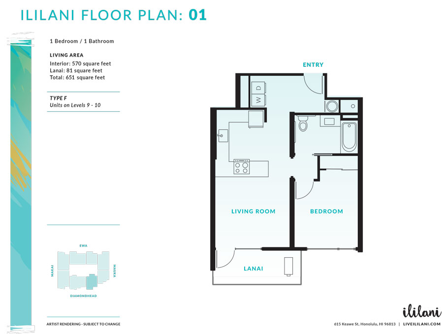 Ililani Floor Plan 01