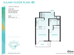 Ililani Floor Plan 01