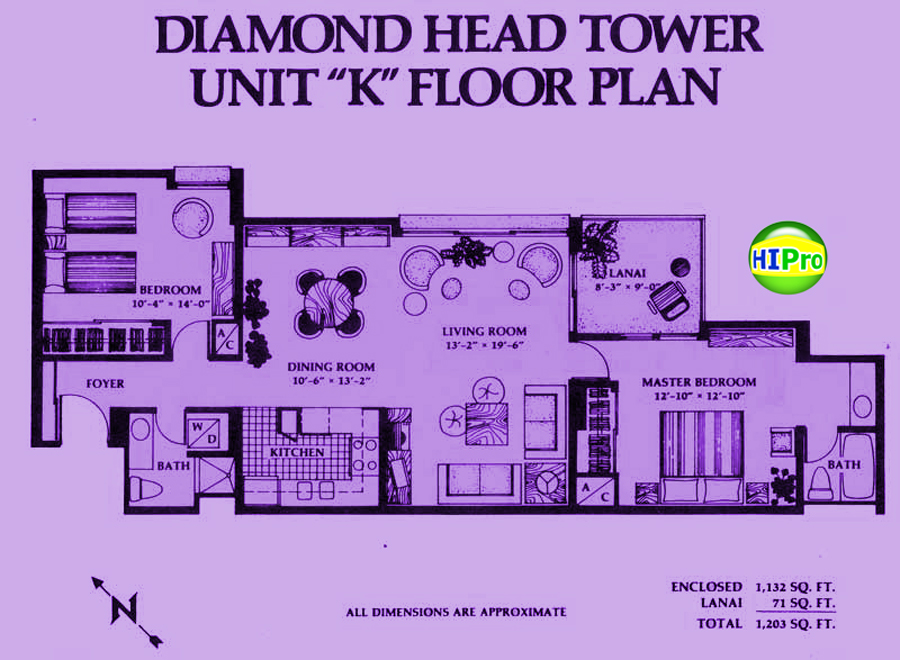 Diamond Head Tower unit K