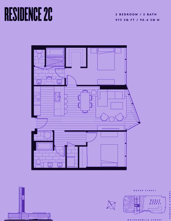 Aeʻo Residence 2C