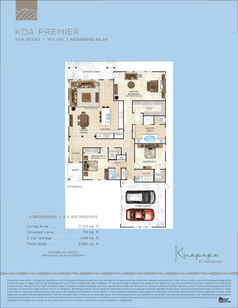 Kaupapa floor plans 60.50