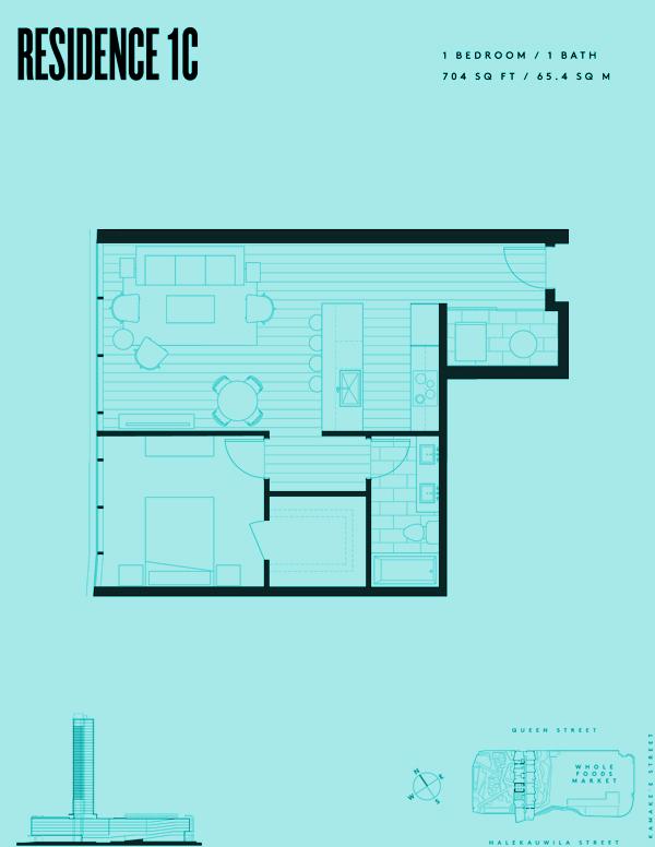 Aeʻo Residence 1C