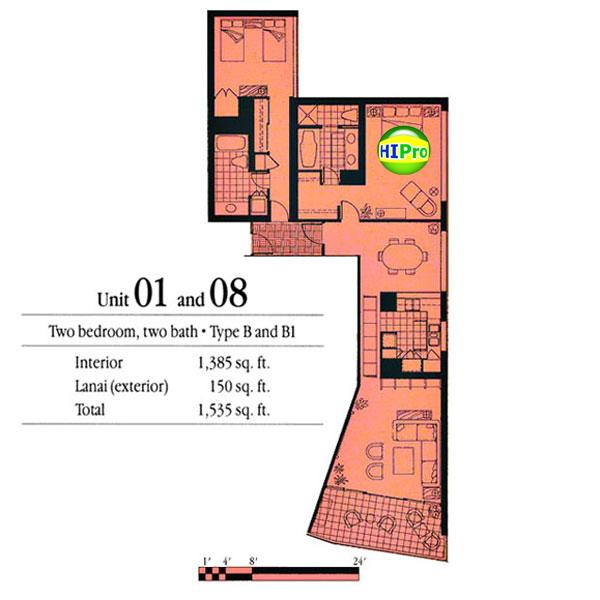 Nauru Tower units 1 & 8