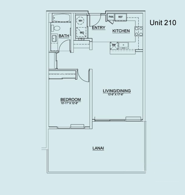 Floor Plan Unit 210