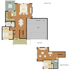 Residence 3 - Floor plan 1st floor
