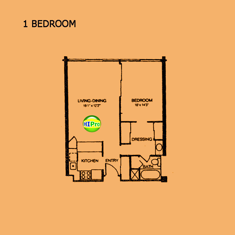 Kukui Plaza - 1 Bedroom