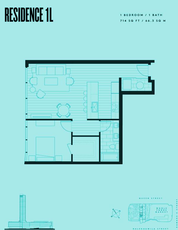 Aeʻo Residence 1L